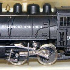 Trenes Escala: RIVAROSSI 1221–LOCOMOTORA VAPOR USA BALTIMORE&OHIO -HO CORRIENTE CONTINUA– CAJA ORIGINAL. Lote 226859555