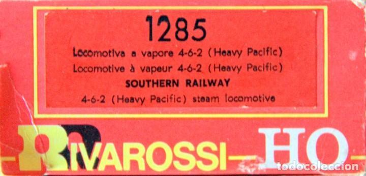 Trenes Escala: RIVAROSSI 1285–LOCOMOTORA VAPOR USA SOUTHERN RAILWAY / HEAVY PACIFIC /CRESCENT- HO - Foto 4 - 226856160