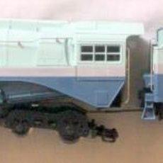 Comboios Escala: AHM/RIVAROSSI 1202 LOCOMOTORA HUDSON-BLUE GOOSE / SANTA FE – HO CAJA ORIGINAL. Lote 231091420