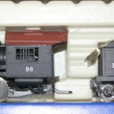Trenes Escala: RIVAROSSI 1225–LOCOMOTORA VAPOR USA BALTIMORE&OHIO- HO CORRIENTE CONTINUA– CAJA ORIGINAL. Lote 235001940