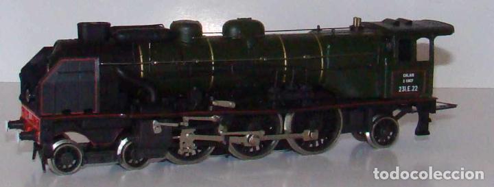 Trenes Escala: Rivarossi H0 - 1341 - Locomotora de vapor con ténder - 231.E.22 - SNCF EDICION ALTAYA - Foto 3 - 235341185