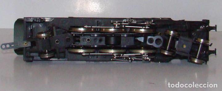 Trenes Escala: Rivarossi H0 - 1341 - Locomotora de vapor con ténder - 231.E.22 - SNCF EDICION ALTAYA - Foto 4 - 235341185