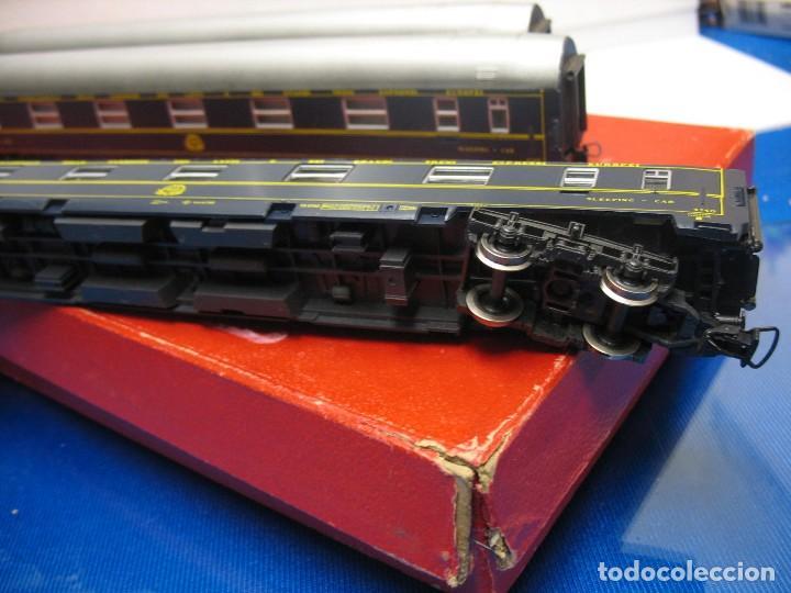 Trenes Escala: TRES VAGONES VAGON LIT DE RIVAROSSI - Foto 2 - 236259845