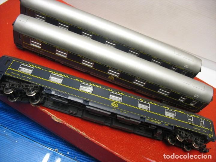 Trenes Escala: TRES VAGONES VAGON LIT DE RIVAROSSI - Foto 7 - 236259845