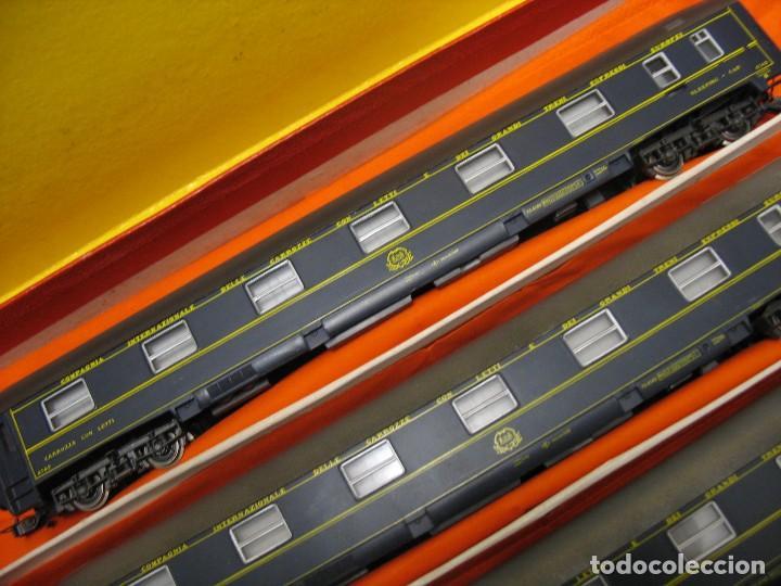 Trenes Escala: TRES VAGONES VAGON LIT DE RIVAROSSI - Foto 11 - 236259845