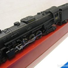 Trenes Escala: RIVAROSSI FANTASTICA LOCOMOTORA NIKEL PLATE 1-4-2 HO ANALOGICA. Lote 238685710