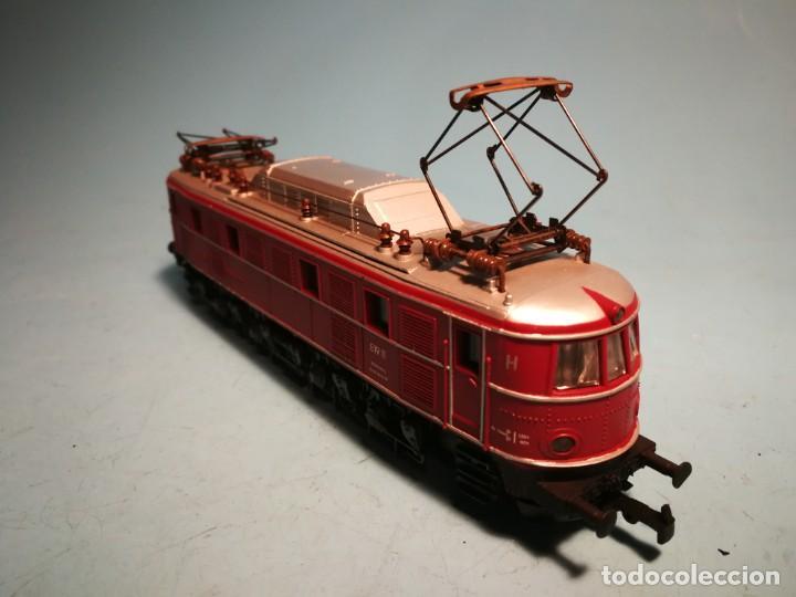 Trenes Escala: LOCOMOTORA ELÉCTRICA RIVAROSSI E19 SIN CAJA - Foto 2 - 241096545