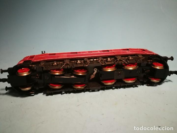 Trenes Escala: LOCOMOTORA ELÉCTRICA RIVAROSSI E19 SIN CAJA - Foto 4 - 241096545