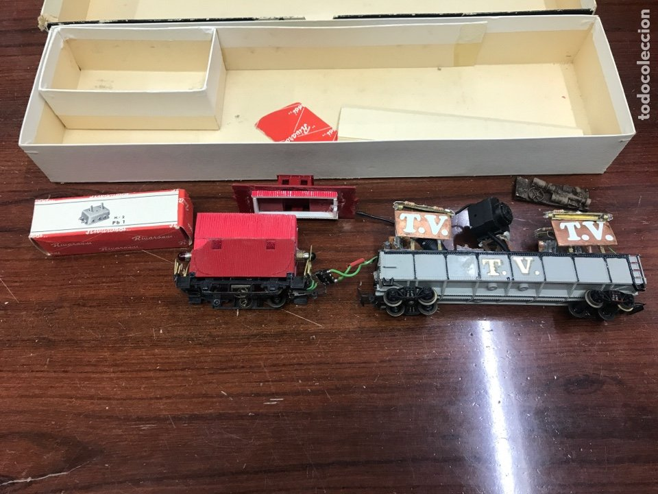 Trenes Escala: Rivarossi caja y piezas sueltas trenes HO - Foto 3 - 246486710