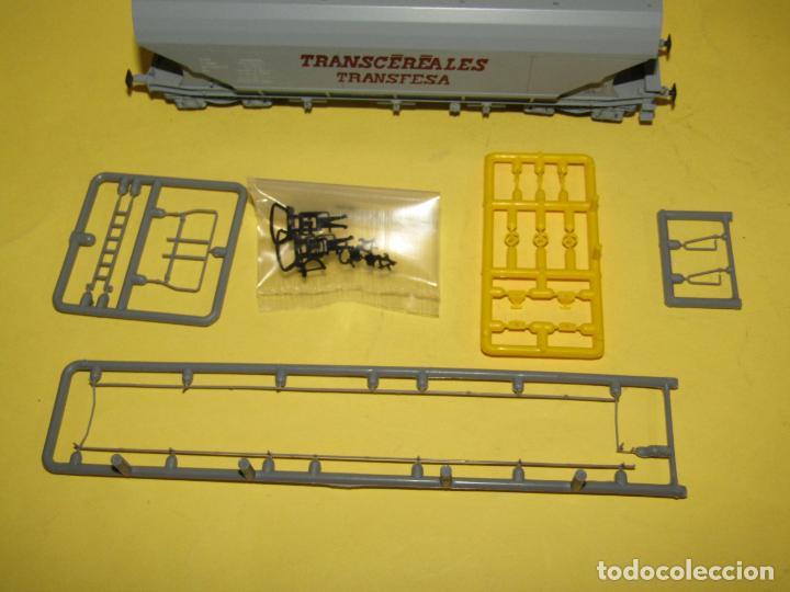 Trenes Escala: Antiguo Vagón Tolva TRANSCEREALES TRANSFESA Escala *H0* Ref. 2125 de RIVAROSSI - Foto 4 - 247701700