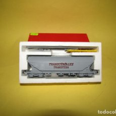 Trenes Escala: ANTIGUO VAGÓN TOLVA TRANSCEREALES TRANSFESA ESCALA *H0* REF. 2125 DE RIVAROSSI. Lote 247701700