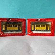 Comboios Escala: RIVAROSSI TRANVIA H0 REF:6410 Y 6420. Lote 252116845