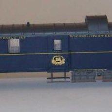 Trenes Escala: RIVAROSSI COCHE PAQUETERIA Nº1265 CON LUZ INTERIOR. Lote 252145805