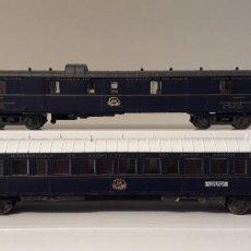 Trenes Escala: RIVAROSSI (ALTAYA) H0 COCHE-CAMAS Y COCHE FURGÓN DE LA CÍA INTERNACIONAL WAGONS-LITS CIWL.. Lote 254378100