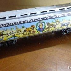 Trenes Escala: AHM RIVAROSSI - H0 - VAGÓN CIRCO BARNUM. MUY BUENA CONDICION.. Lote 255020560