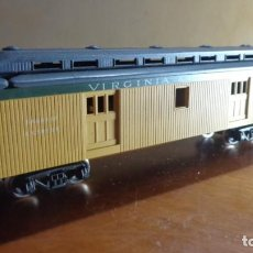 Trenes Escala: AHM RIVAROSSI - H0 - VAGON POSTAL VIRGINIA & TRUCKEE. MUY BUENA CONDICION.. Lote 255020940
