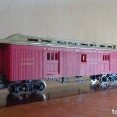 Trenes Escala: AHM RIVAROSSI - H0 - EQUIPAJE COCHE 'KANSAN CITY, SAINT LOUIS Y CHICAGO'. MUY BUENA CONDICION.. Lote 255022720