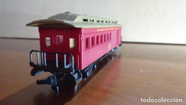 Trenes Escala: AHM RIVAROSSI - H0 - COCHE POSTAL Kansan City, Saint Louis y Chicago. MUY BUENA CONDICION. - Foto 2 - 255023765