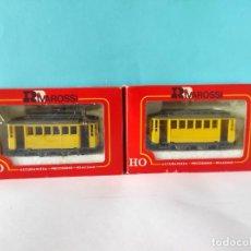 Comboios Escala: RIVAROSSI TRANVIA H0 REF:6410 Y 6420. Lote 256108805