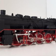 Trenes Escala: RIVAROSSI H0 LOCOMOTORA VAPOR BR 39, DE LA DB, REFERENCIA 1345 DC ANALÓGICA.. Lote 263706740