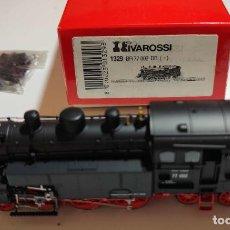 Trenes Escala: RIVAROSSI LOCOMOTORA DE VAPOR BR 77 DE LA DB REF: 1329 ESCALA H0 ANALOGICA. Lote 280974073