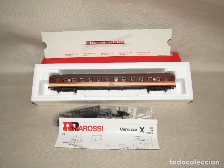 Trenes Escala: Coche de Pasajeros Estrella 2ª Clase RENFE en Escala *H0* Ref. 3582 de RIVAROSSI a Estrenar Todo - Foto 2 - 283972693