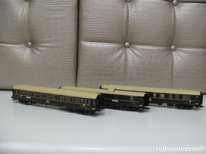 SET 3 VAGONES RIVAROSSI (Juguetes - Trenes a Escala H0 - Rivarossi H0)