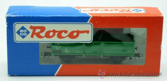 VAGON MERCANCIAS CARGA ROCO ESCALA H0 (Juguetes - Trenes a Escala H0 - Roco H0)