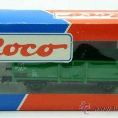 Trenes Escala: VAGON MERCANCIAS CARGA ROCO ESCALA H0. Lote 20701354