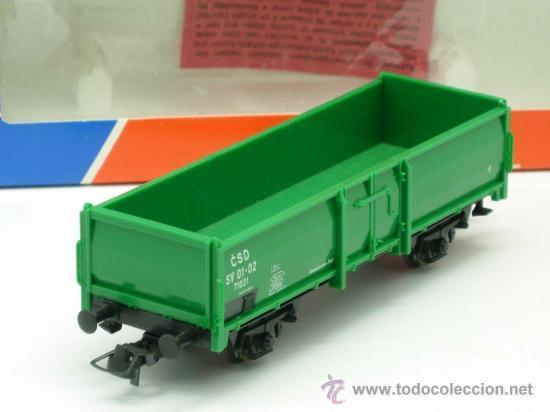 Trenes Escala: Vagon mercancias carga Roco escala H0 - Foto 2 - 20701354