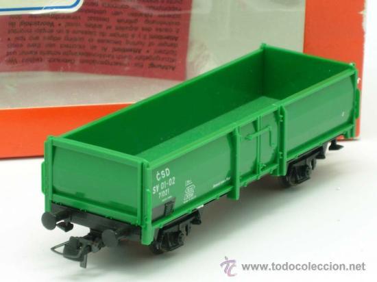 Trenes Escala: Vagon mercancias carga Roco escala H0 - Foto 3 - 20701354