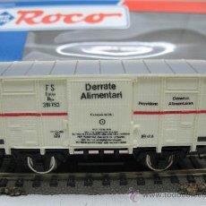 ROCO REF: 46010 F - VAGON MERCANCIAS REFRIGERADO - FS (ITALIA) - ESCALA H0