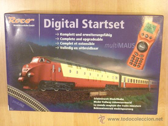 ROCO H0 STARTSET DIGITAL 63123 TEE SONIDO LOKSOUND MULTIMAUS NUEVO (Juguetes - Trenes a Escala H0 - Roco H0)