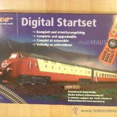 Trenes Escala: ROCO H0 STARTSET DIGITAL 63123 TEE SONIDO LOKSOUND MULTIMAUS NUEVO. Lote 31343155