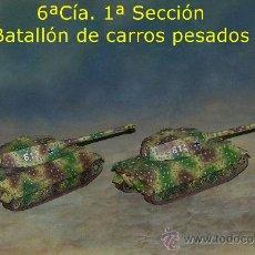 Trenes Escala: 2 KING TIGER, ESQUEMA EMBOSCADA. Lote 32760718