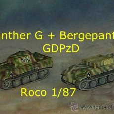 Trenes Escala: BERGEPANTHER Y PANTHER. Lote 36655861