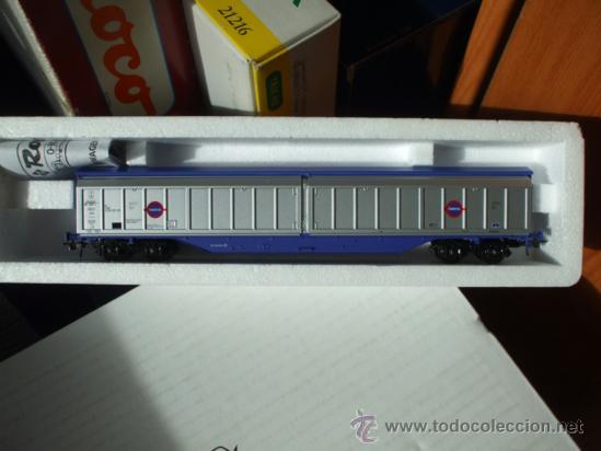 VAGÓN BRITISH RAILWAYS 279 5 351-7 / TRANSFESA - ROCO 46814 - REINO UNIDO - TREN (Juguetes - Trenes a Escala H0 - Roco H0)