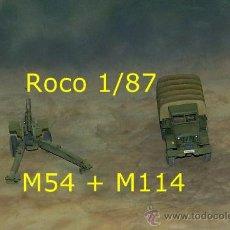 Trenes Escala: M54 + M114 ESPAÑOLES. Lote 37519047