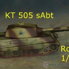 Trenes Escala: KING TIGER HENSCHEL 505. Lote 38150065