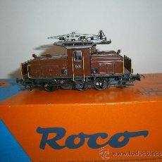 Trenes Escala: LOCOMOTORA ELECTRICA EE 3/3 DE LOS FERROCARRILES SUIZOS, HO DE ROCO, REF. 43529. Lote 38376315