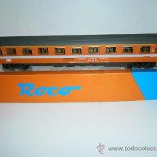 Trenes Escala: COCHE DE PASAJEROS 1ª CLASE, SBB-CFF-FFS. SUIZO, HO DE ROCO, REF.44305.. Lote 38478842