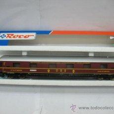Trenes Escala: ROCO 44898- COCHE DE PASAJEROS SCHLAFWAGEN DE LA DB-AG, ESCALA H0-(CON LUZ). Lote 39381826