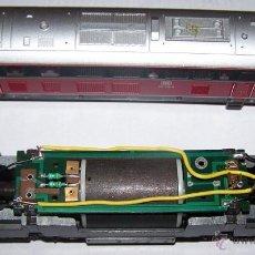 Trenes Escala: LOCOMOTORA H0 DE ROCO. DE 2ª MANO FUNCIONANDO.. Lote 44404716