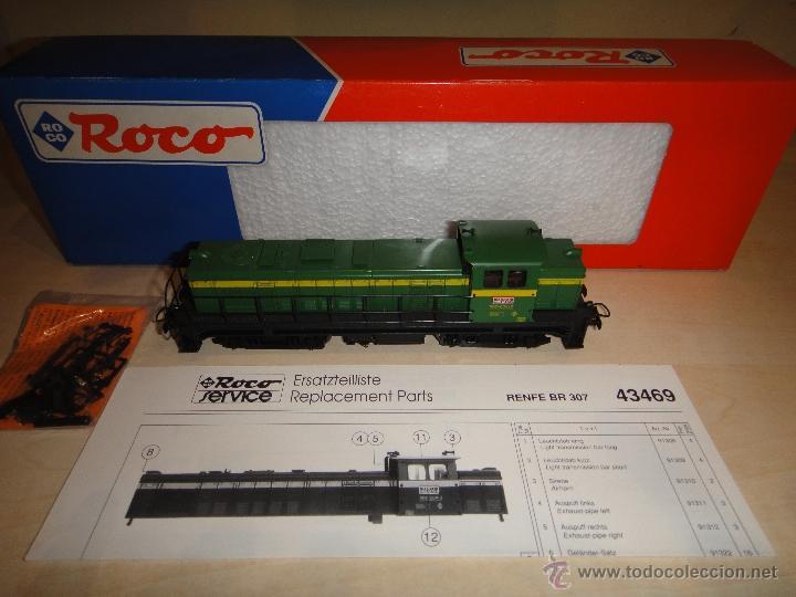 LOCOMOTORA ROCO H0 (Juguetes - Trenes a Escala H0 - Roco H0)