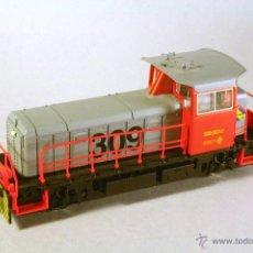 Trenes Escala: ROCO #43805. ESCALA H0. LOCOMOTORA DIESEL RENFE 309-021-4 DC ANALÓGICA. Lote 47296692