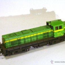 Trenes Escala: ROCO #43469. ESCALA H0. LOCOMOTORA DIESEL RENFE 307-004-2 VALENCIANA DC ANALÓGICA. FUNCIONA. Lote 49433550