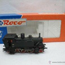 Trenes Escala: ROCO REF: 43325 - LOCOMOTORA DE VAPOR 880.019 DIGITAL CON CORRIENTE CONTINUA - ESCALA H0. Lote 51540298