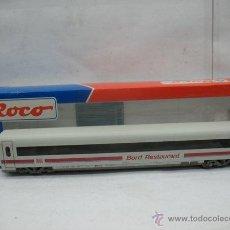 Trenes Escala: ROCO - VAGÓN RESTAURANTE DEL ICE 2 DE LA DB BORD RESTAURANT - ESCALA H0. Lote 51572665