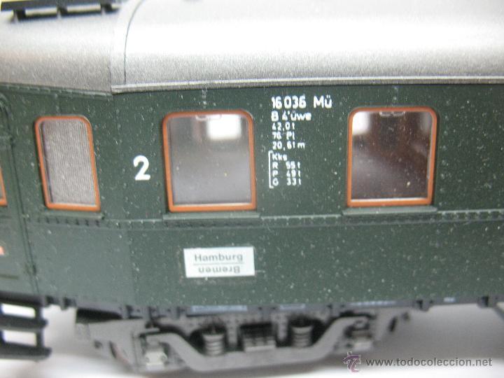 Trenes Escala: Roco - Coche de pasajeros de la DB 16036 - Escala H0 - Foto 5 - 52533425