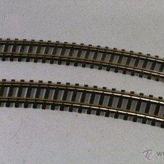 Trenes Escala: ROCO #4430. ESCALA H0. LOTE DE 2 VÍAS CURVAS 30º. RADIO 415MM. Lote 54020651